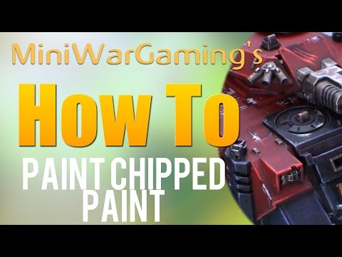How To: Paint Chipped Paint