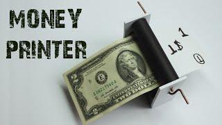 How to make a MONEY PRINTER MACHINE - Magic Hacks - Easy Way - Just5mins
