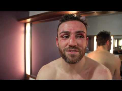 MATTHEW MACKLIN REACTS TO DISAPPOINTING KNOCKOUT DEFEAT TO HEILAND IN DUBLIN - POST FIGHT INTERVIEW