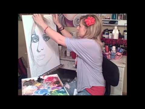 Painting With Love: How To Paint A Portrait: Lesson 4 Part 1