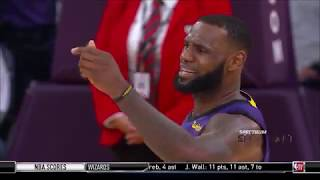 LeBron James CLUTCH Block - Jazz vs Lakers | November 23, 2018