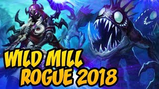 Hearthstone: Wild Kingsbane Mill Rogue 2018