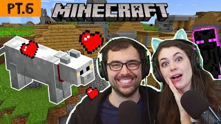 The Quest to find Katelyn's Cat 🐈❤️👩 (Minecraft Survival pt.6)