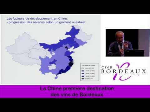 La Chine, première destination des vins de Bordeaux