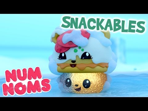 Num Noms | Peppy Roni's Freezer Fun | Snackables Cartoon Webisode | Episode 4