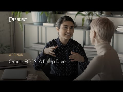 Oracle FCCS: A Deep Dive