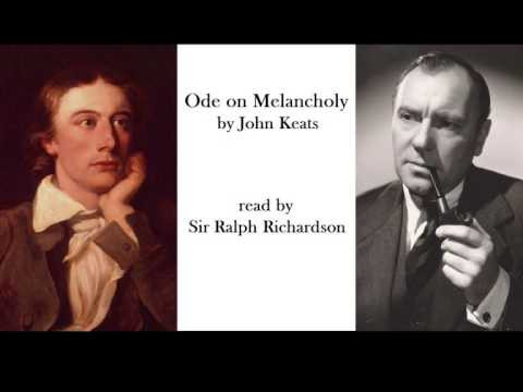 Ode on Melancholy by John Keats read by Ralph Richardson