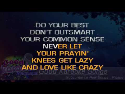 Love Like Crazy   Lee Brice Lyrics Karaoke  goodkaraokesongscom