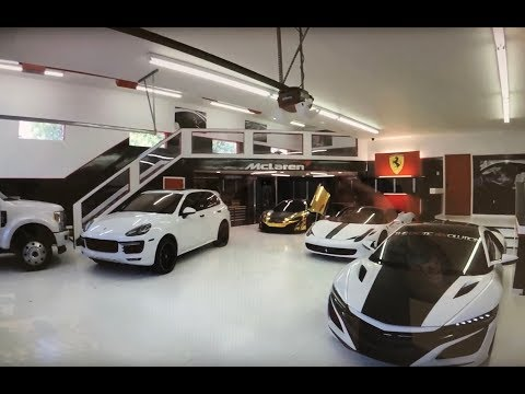 CHECK OUT THIS INSANE CUSTOM GARAGE!!!