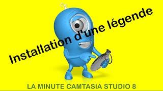 La minute Camtasia Studio 8 : Installation d'une légende (callouts)