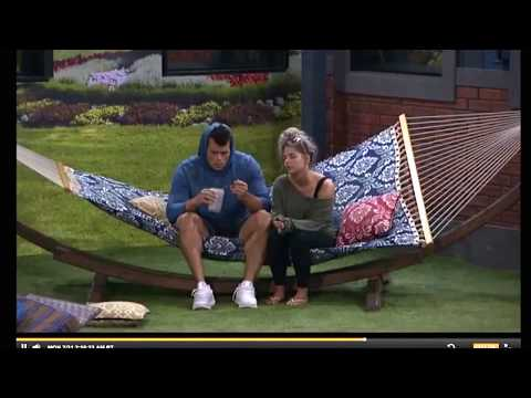 Big Brother 19 Mark and Elena examine their relationship