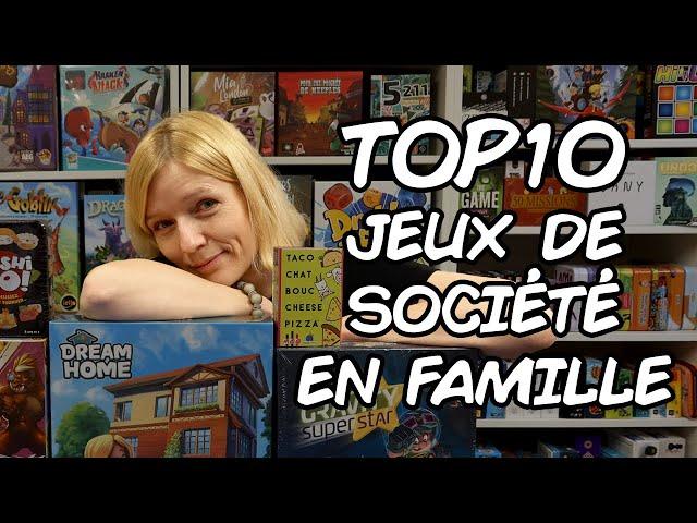 Mon Top 10 des jeux de société en famille : Rachel
