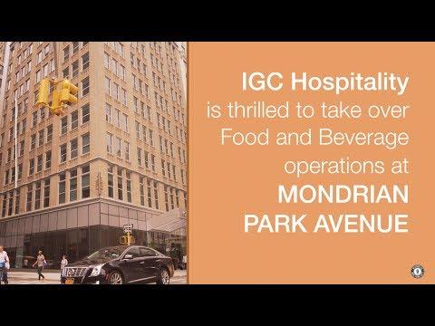 IGC and Mondrian Park Avenue | Cleo, Mondrian Terrace, Boogie Woogie Room
