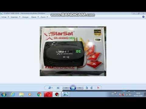 شرح كيفية تحديث جهاز STARSAT 4040 HD VEGA التحديث الاخير COMMENT FAIRE UN  MISE A JOUR
