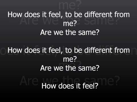 Avril Lavigne How Does It Feel (Lyrics on Screen)