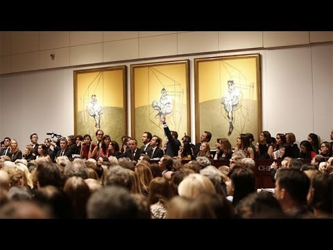 Francis Bacon painting sold from $142.4 million in New York - most expensive ever