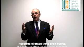 John Tschohl Service Quality Institute, agradece a Oscar Marcos Gómez trabajo en México