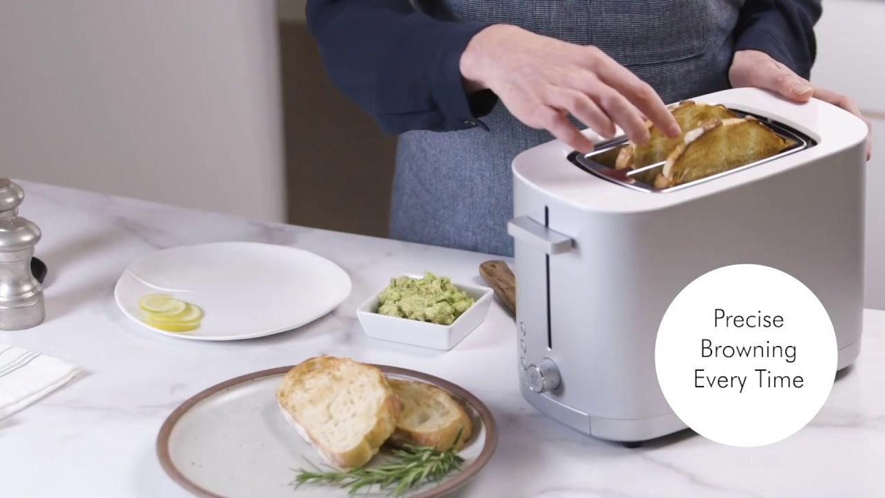 Enfinigy 2-Slot Toaster (Matte Silver) video thumbnail