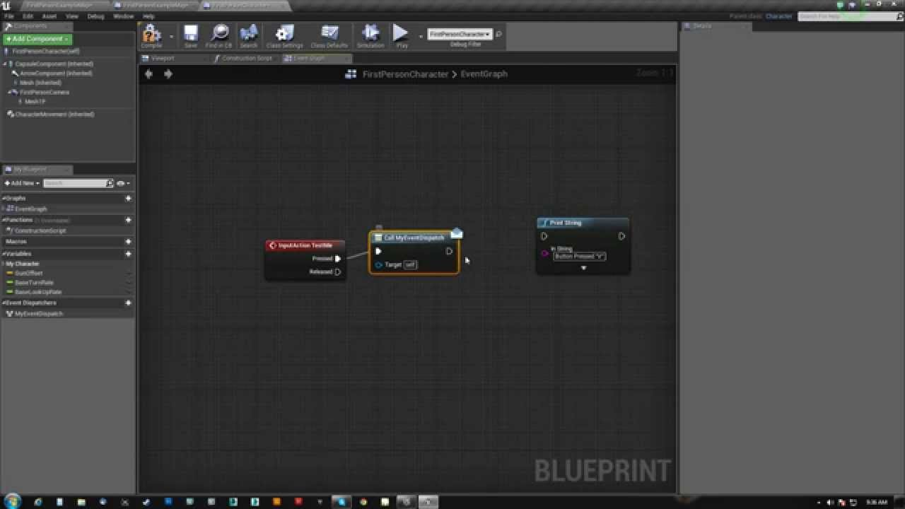 Ue4 event dispatchers youtube malvernweather Images