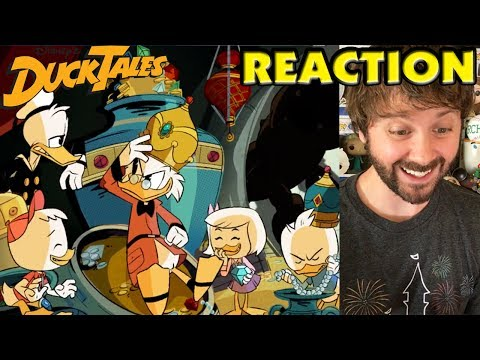 DuckTales - Main Title Opening & Theme Song REACTION