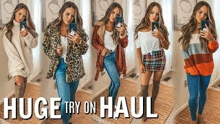 HUGE TRY ON CLOTHING HAUL WITH HOT NEW ITEMS! | Casey Holmes