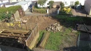 Bracken House Garden and Gabion Wall