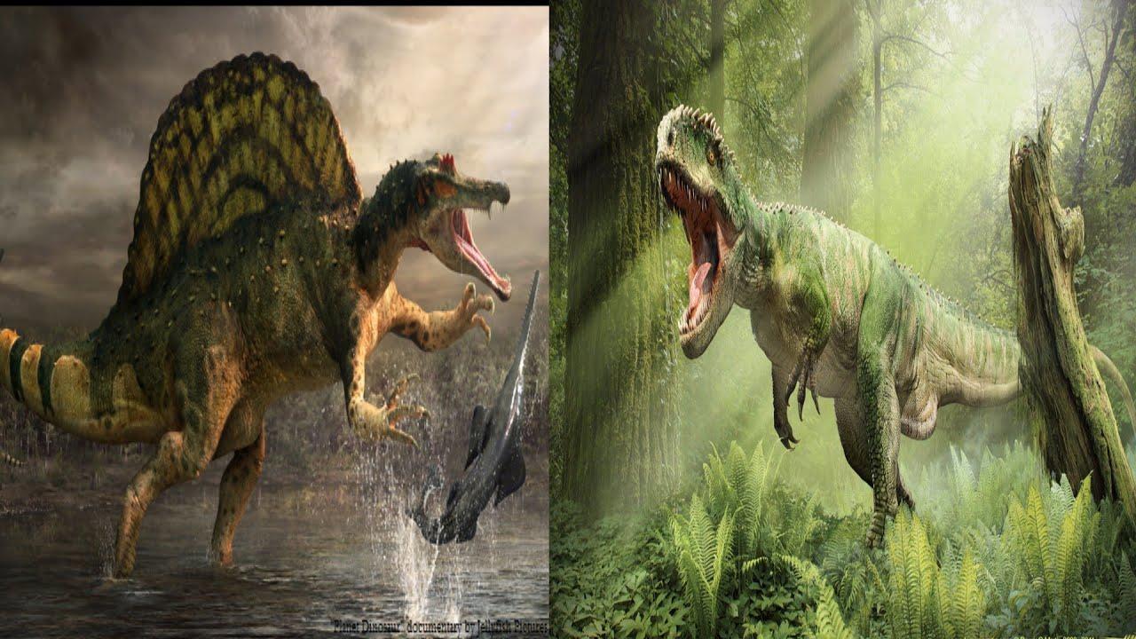 Spinosaurus vs Giganotosaurus: Who Would Win? - YouTube
