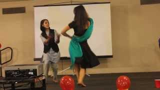 Nepali Dance (Dashain Night) performed by Sneha & Apsana