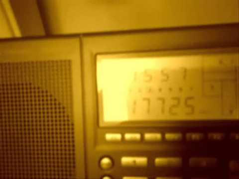 Voice Of America East Africa service, 17725 kHz