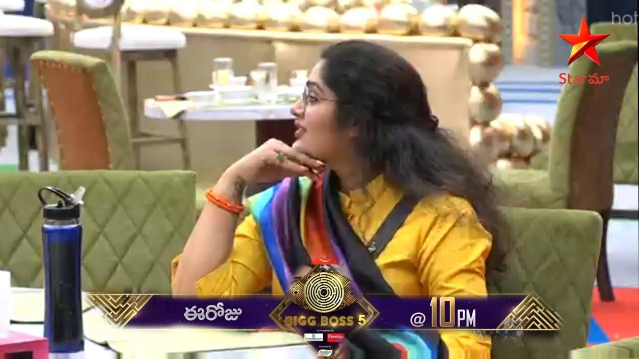 Bigg Boss 5 Today Latest Promo | Priya Get Big Shock In Big Boss House |  Star Maa | BB5 Promo - YouTube