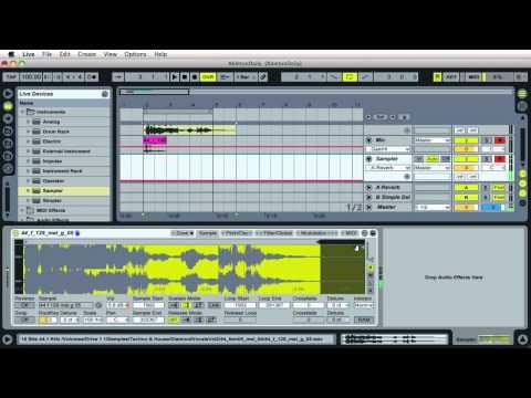 #12 Vocal Stutter Effect in Sampler :: Ableton Live