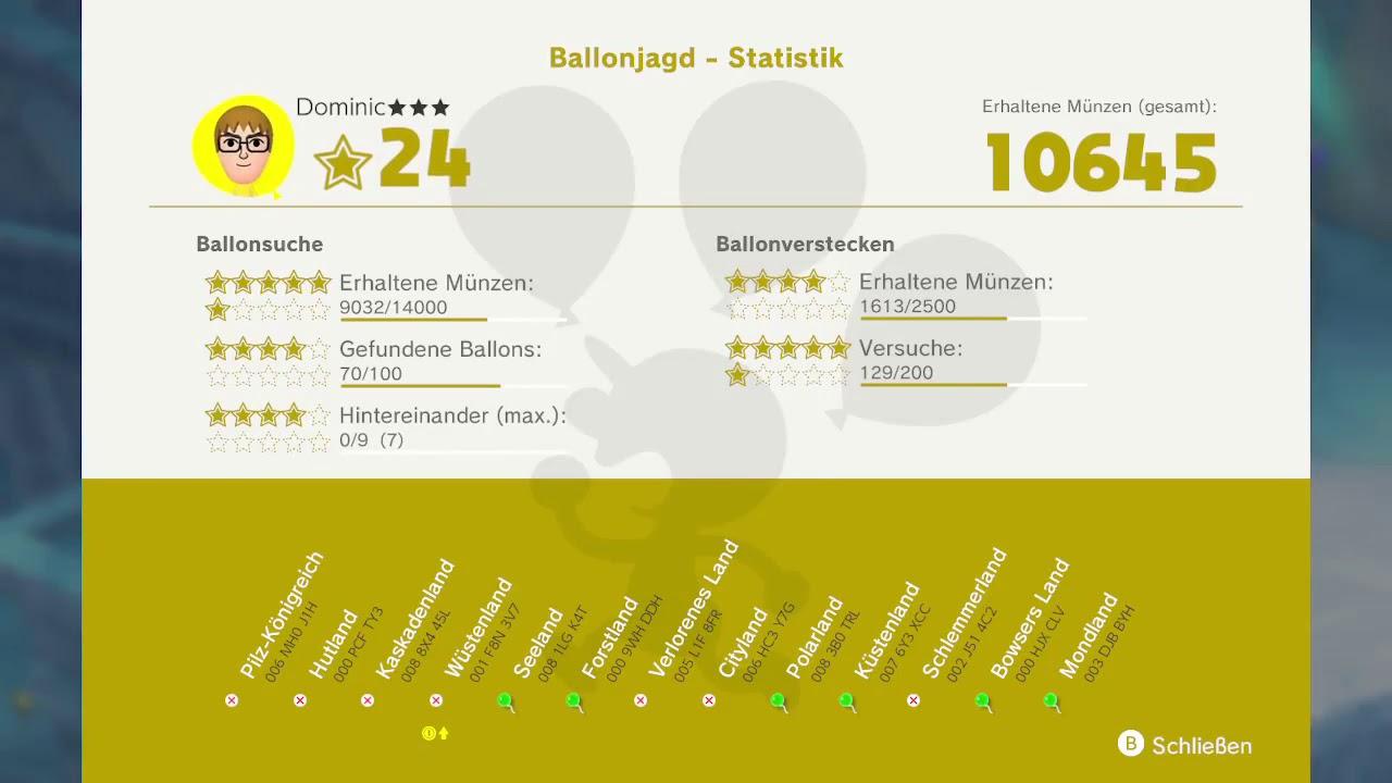 Super Mario Odyssey Meine Ballons Luigis Ballong Jagt Nintendo