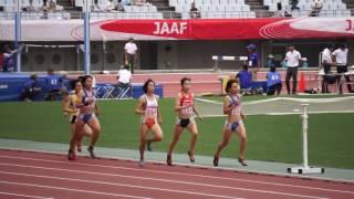第101回日本陸上競技選手権 女子800m予選3組 1周目 thumbnail