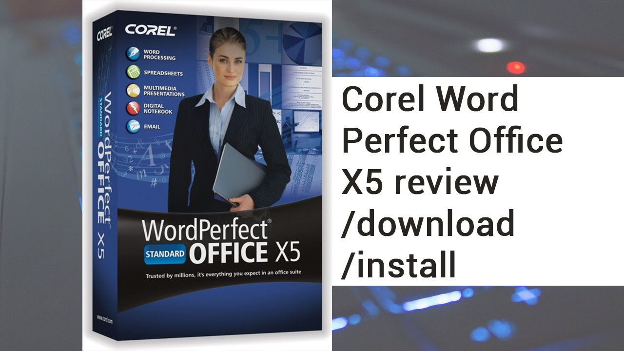 word perfect x4 download