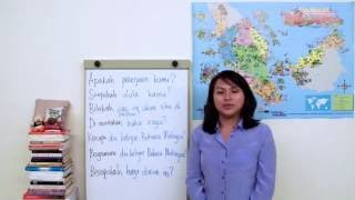 [Learn Malay] #10: Question words