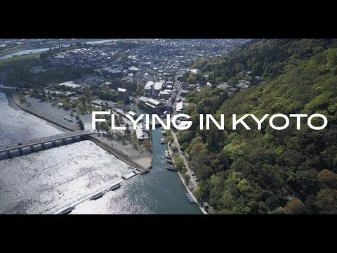 Flying In Kyoto