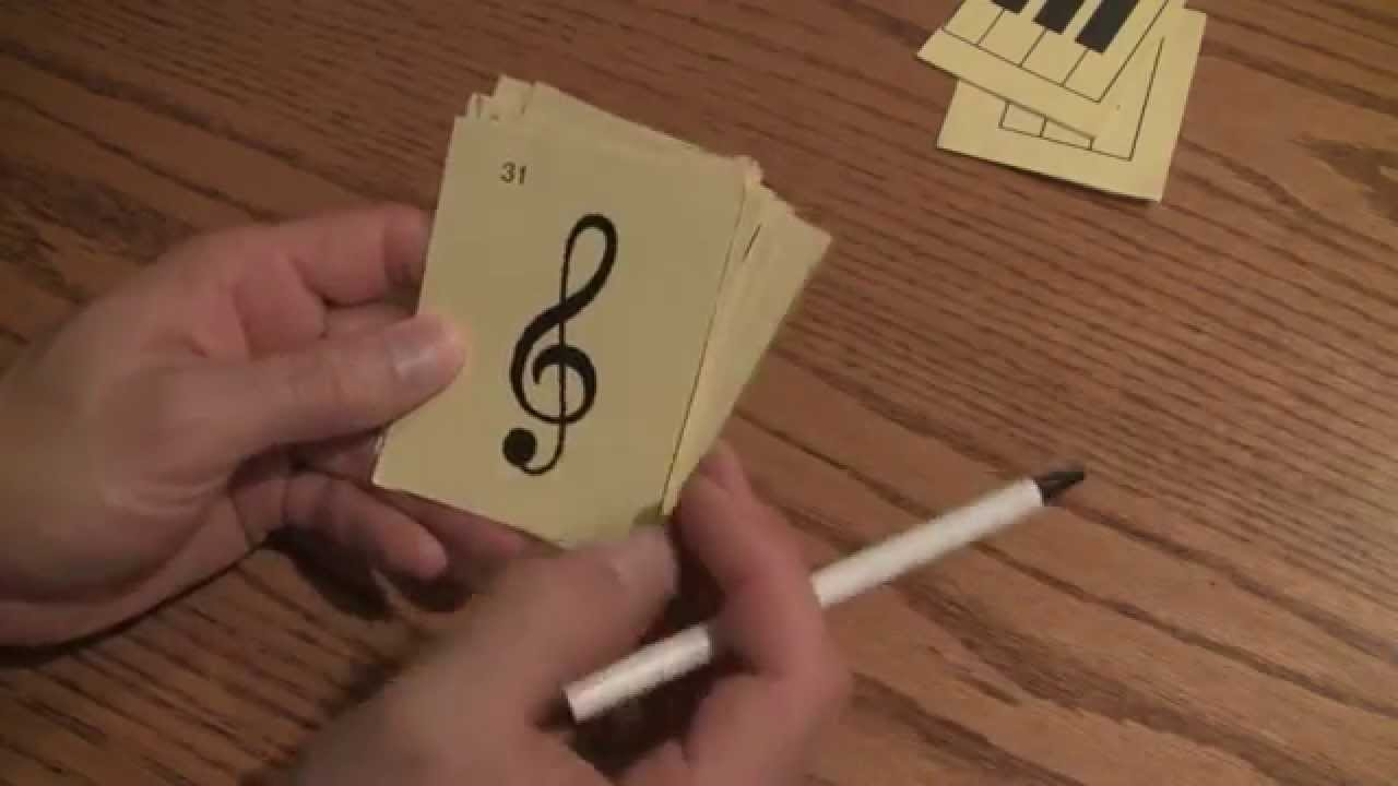 Basic Music Symbols Explained With Flashcards Youtube