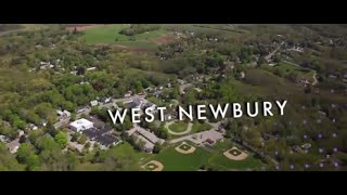 luxury real estate west newbury massachusetts aerial video