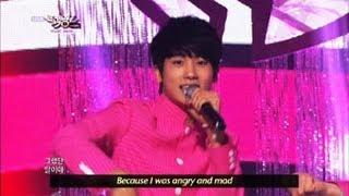 [Music Bank w/ Eng Lyrics] ZE:A Five - The day we broke up (2013.04.20)