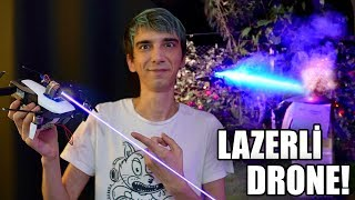5.500mw LAZERLİ DRONE YAPTIK! (Her Şeyi Yakıyor)