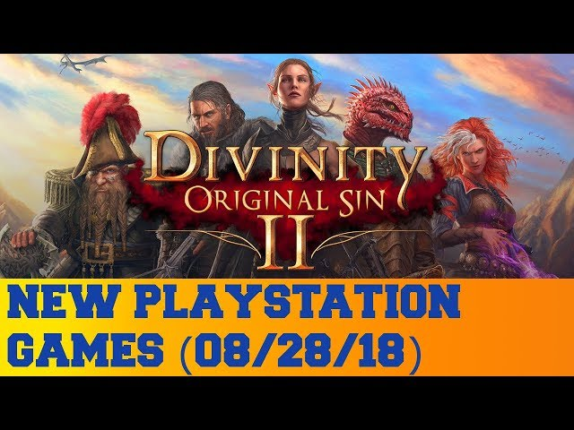 New PlayStation Games for August 28th 2018