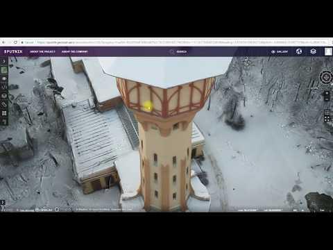 Sputnik Web. 3D Drone mapping