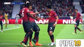FIFA 19 - LE JEUX S'ANNONCE LOURD - PSG VS MANCHESTER UNITED