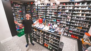 17 Year Old Shows Huge $1,000,000 Sneaker Collection