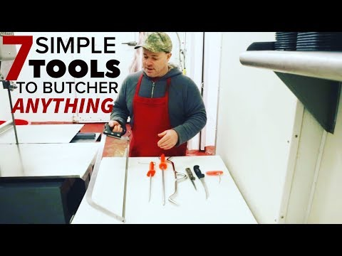7 Simple Tools Every DIY Butcher Needs