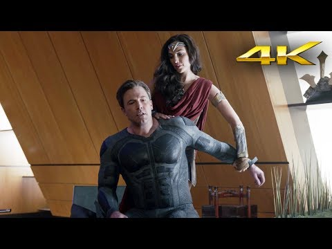 Bruce Wayne & Diana Prince | Justice League 4k SDR