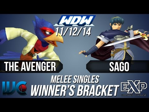 WDW 11/12/14 - The Avenger (Falco) vs....