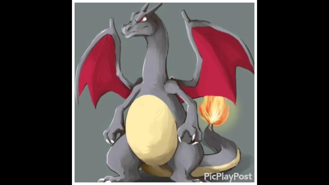 pokemon shiny charizard - 736×809