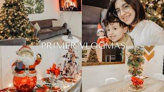 decorando nuestra casita para navidad | BIENVENIDOS A VLOGMAS 2020