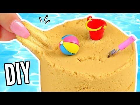 4 DIY Summer Slimes! Pool Party, Beach Sand Slime, Jell-O Slime & More!